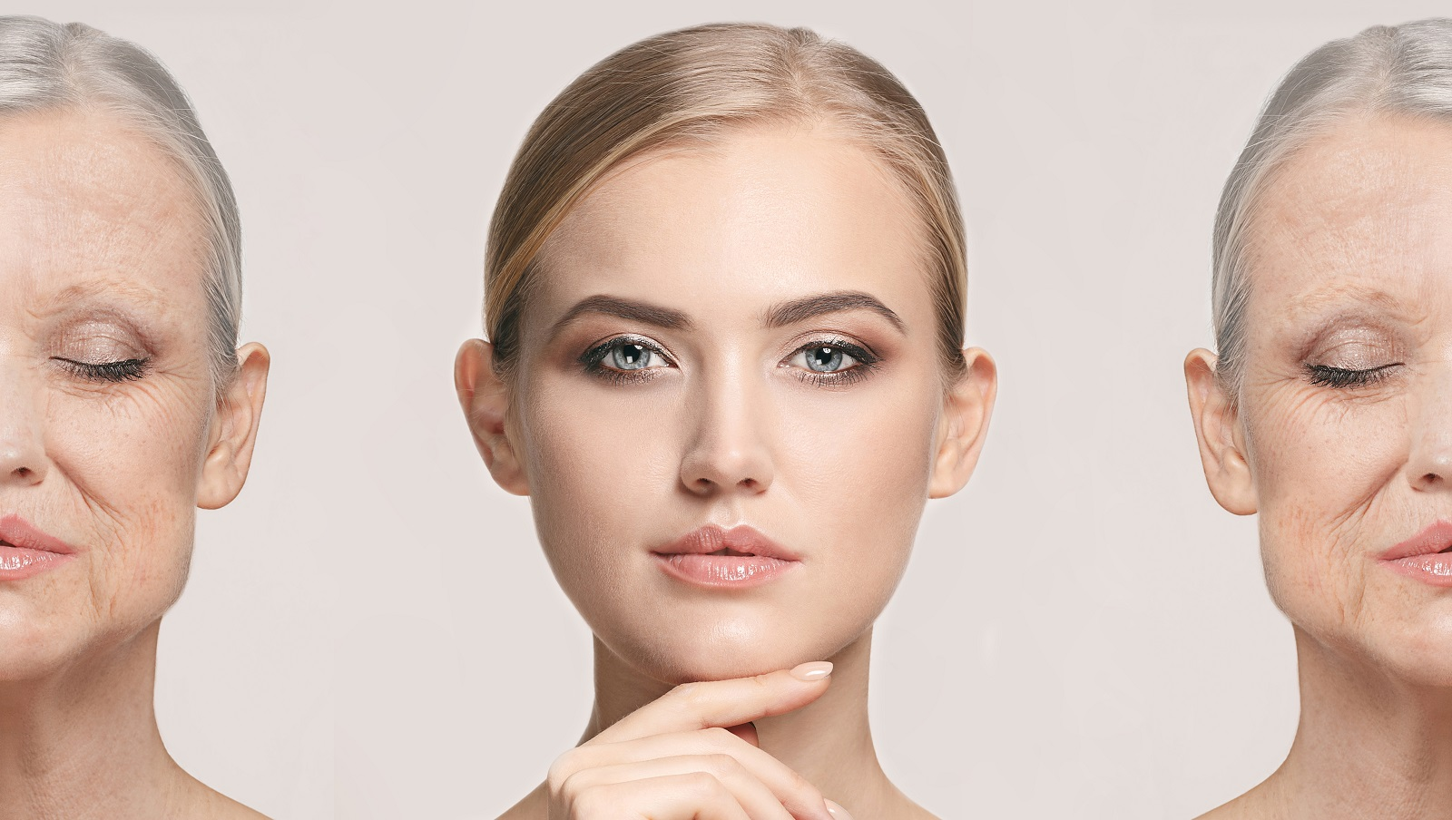 Comparison_Portrait_Of_Beautiful_Woman_With_Problem_And_Clean_Skin_Pilares_de_Saude_Impact_Transition